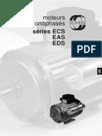 Moteur Monophase EDS EAS ECS