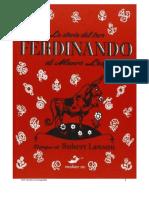 Ferdinando Cuento Espanol1