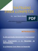 Juan Davila Estrategias Para Competir