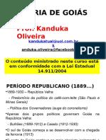 Slides Da História de Goiás