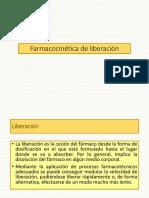 2.1 Farmacocinética de Liberación