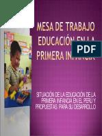 1. Elena Valdivieso - Mesa de Educacion