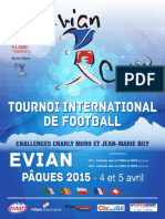 Programme Evian Cup 2015