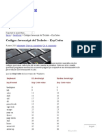 Codigos Javascript Del Teclado