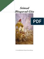 Srimad Bhagavad Gita Comentado Por Prabhupada