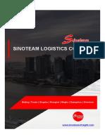 【Brochure】Sinoteam Logistics Co.,Ltd - China