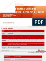 ITS World Congress Tokyo 2013_Promotional Theme Slides of Huawei Industrial Switching Router