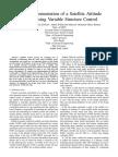Aboelaze,... FPGA Implementation of a Satellite Attitude Control...