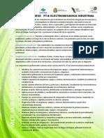 6.- Perfil de Egreso Electromecanica Industrial 2.16.17