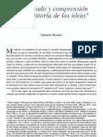 SKINNER -Significado y Comprensión en La Historia de Las Ideas (OCR)