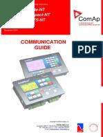 Comunicações IL NT, IA NT, IC NT Manual_2010 12