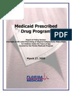 Medicaid Prescribed Drug Program