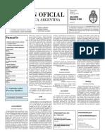 Boletin Oficial 02-07-10 - Segunda Seccion