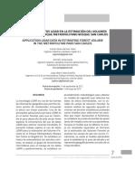 Aplicación de Datos Lidar en La Estimación Del Volumen Forestal en El Parque Metropolitano Bosque San Carlos