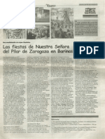 LAS FIESTAS DE NUESTRA SEÑORA DEL PILAR DE ZARAGOZA