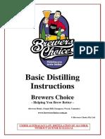 Basic Distillation Instruction