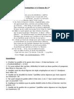 Evaluation Poésie Première GSEM