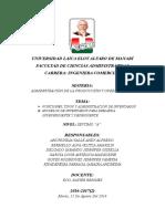 Funciones y Tipos de Inventarios