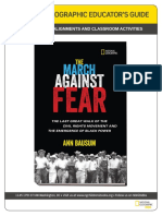 The March Against Fear - Educator's Guide