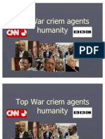 Top War Criem Agents Humanity