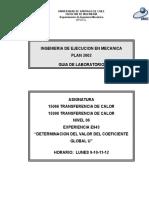 E943 Determinación Del Valor Del Coeficiente Global U