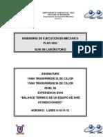 E944 (15090-15066) Balance Termico de Un Equipo de Aire Acondicionado
