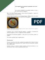 Correção Da Declinação Magnética Para Orientação de Pirâmides Com Uso de Bússola