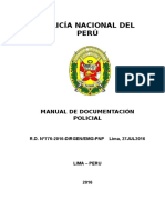 Manual de Documentacion Policial-Año 2016