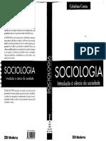 Sociologia - Introdução à Ciência Da Sociedade - 3ºed -Cristina Costa 2005