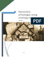 Nacionalna Arheologija Ranog Srednjeg Vijeka