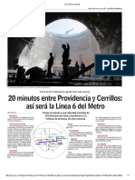 Las Últimas Noticias Nueva Linea Metro Santiago
