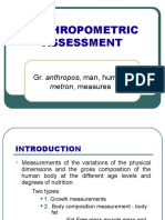 Anthropometric Assessment
