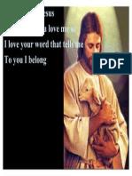 O How I Love You Jesus