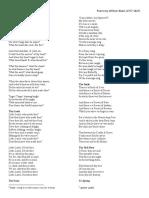 Blake Poems