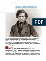 Frederick Douglass and Diplomacy.docx