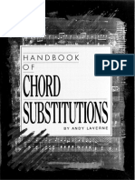 Handbook of Chord Substitutions Espanol
