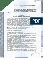 Estatuto CGADB Aprovado Em 2016