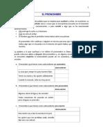 Guía - El Pronombre