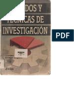 MUNCH ANGELES Metodos y Tecnicas de Investigacion PDF