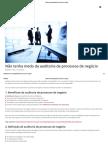 3 Fatores-chave Da Auditoria de Processos de Negócio