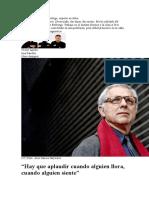 2017 02 09 LV LC Jordi Montero - Hay Que Aplaudir Cuando Alguien Llora, Cuando Alguien Siente