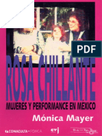 Monica Mayer - Rosa Chillante