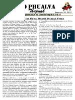 Zo Phualva Thupuak - Vol 07, Issue 02