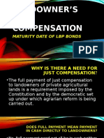 Maturity Date of LBP Bonds