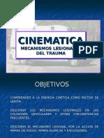 CINEMÁTICA Mecanismos Lesionales Del Trauma.ppt