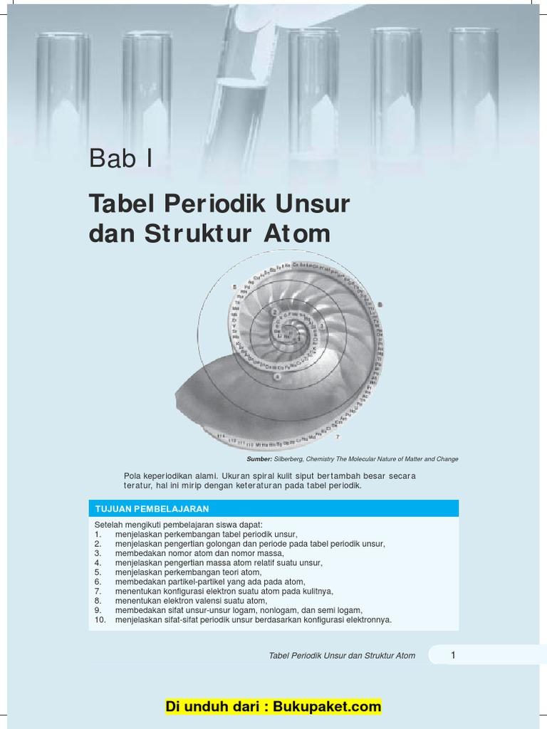 Bab 1 tabel periodik unsur dan struktur atompdf urtaz Gallery