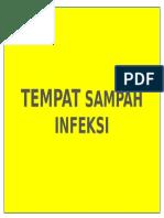 TEMPAT SAMPAH INFEKSI