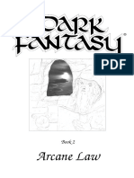 Dark Fantasy Arcane Law
