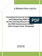 Bidding Documents Consulting Service LRC