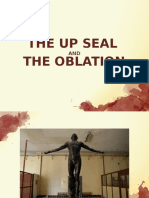 Art Stud 2 Report UP Seal and Oblation